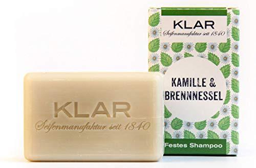 Heldere zeep vaste shampoo kamille & brandnetel, 100 g