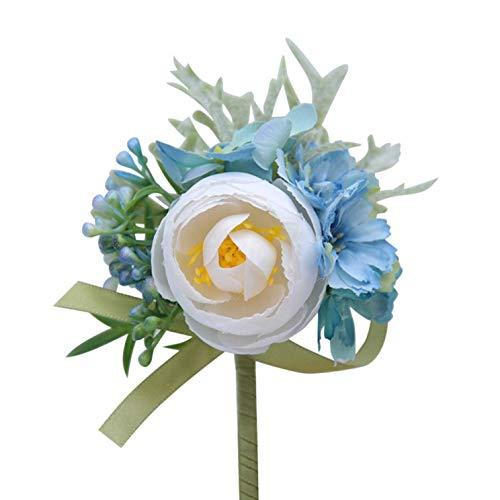 Aohua ongelooflijke Groomsman Mannen/Vrouwen Corsage Bloem Pols Bloem Groom Boutonniere Bruiloft Nice