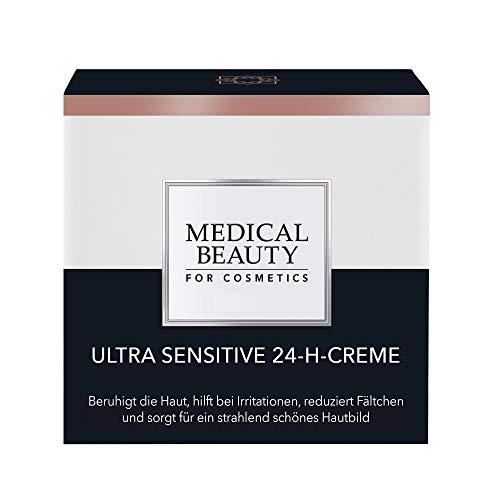 MEDICAL BEAUTY® Ultra Sensitive 24-H-Creme | Hochwirksame Anti-Falten Tagespflege | Bei empfindlicher Haut | Beruhigt die Haut, glättet und regeneriert