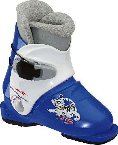 TecnoPro Kinder Skischuh Skitty Junior (Größe: Mondopointgröße 17,5 (EU ca. 28,5))