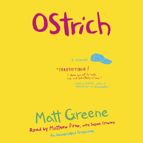 Ostrich audiobook cover art