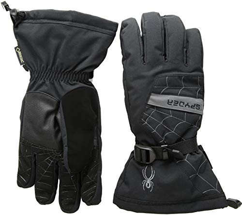 Spyder Herren Overweb GTX Handschuhe, Black/Polar, M