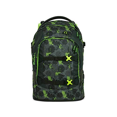 satch Pack Off Road, ergonomischer Schulrucksack, 30 Liter, Organisationstalent, Schwarz