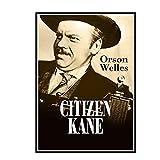 DuanWu Citizen Kane Movie Vintage Poster and Canvas Prints Pintura Arte de la Pared Impresión en Lienzo Decoración de la Pared del hogar Imágenes -50x70 cm Sin Marco 1 Uds