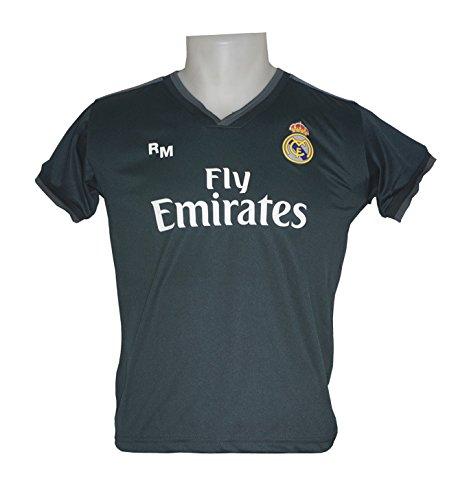 Real Madrid FC Camiseta Infantil Réplica Segunda Equipación 2018/2019 (12 Años)