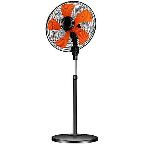 YEXINTMF Oscilante Ventilador de Pedestal, 6-velocidades Ajustables Altura Potente 18'Soporte de pie Ventilador, for viviendas oficinas y Habitaciones Local Comercial de fábrica