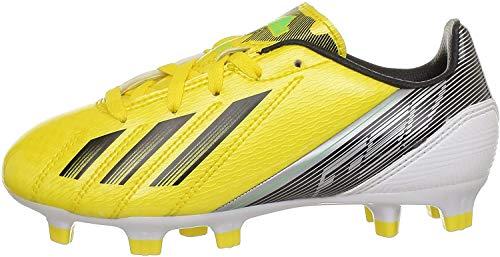 adidas Performance F10 TRX FG J G65352, Jungen Fußballschuhe, Gelb (VIVID YELLOW S13/BLACK 1/RUNNING WHITE FTW), EU 38 2/3  (UK 5,5)