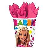 Amscan Barbie Sparkle Pappbecher  ein packung mit