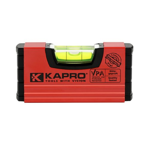 Kapro 246M Magnetic Handy Level, Red, 4-Inch