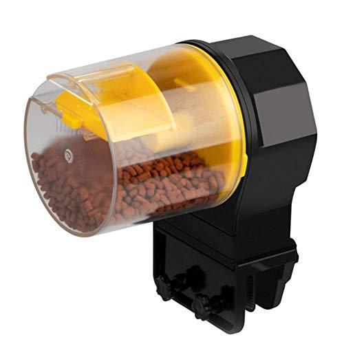 3°Amy Comedero Automatico Peces Acuario ajustable automático Mini peces de alimentación del tanque temporizador dispensador tanque alimentador Alimentación Alimentación Pesca con 2 peces dispensadores