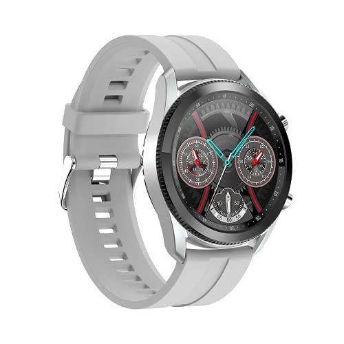 L61 Smart Watch Fitness Tracker para hombres y mujeres, monitor de ritmo cardíaco, podómetro, contador de calorías, IP67 impermeable con pantalla HD de 1.3 pulgadas, regalo cálido
