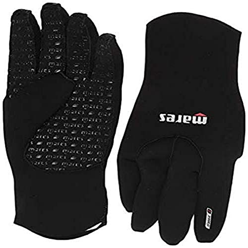 Mares Erwachsene Handschuhe Flexa Classic 3 mm, Black/Grey, L