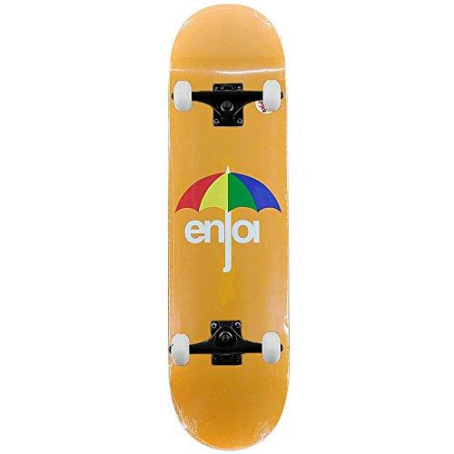 Enjoi Skateboard ombrello HYB Arancione Skateboard completo Pro 8.375'