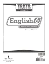 English Tests Grd 6 2nd Edition