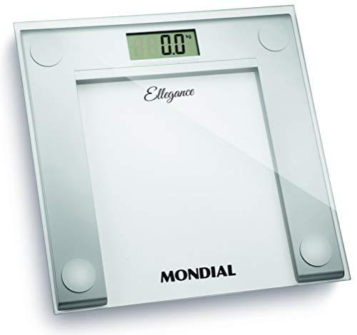 Balança Digital Ellegance Bateria, Mondial, BL-03, Branca, Pequeno