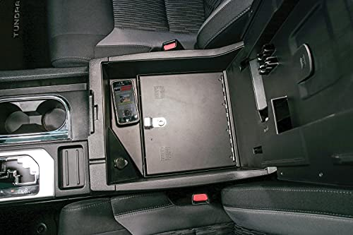 Console Insert for 2014-Current Toyota Tundra W/Flow-Thru Console