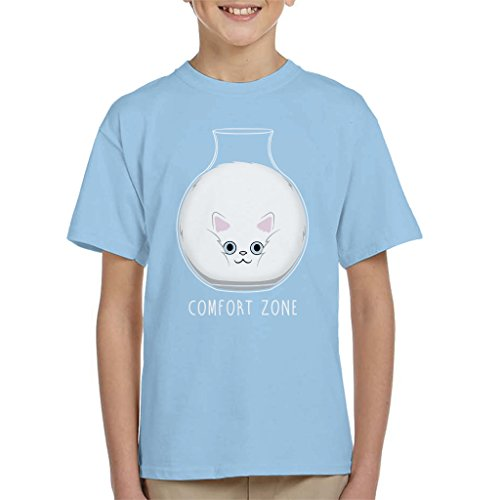 Squishy Cat Comfort Zone Kid's T-shirt
