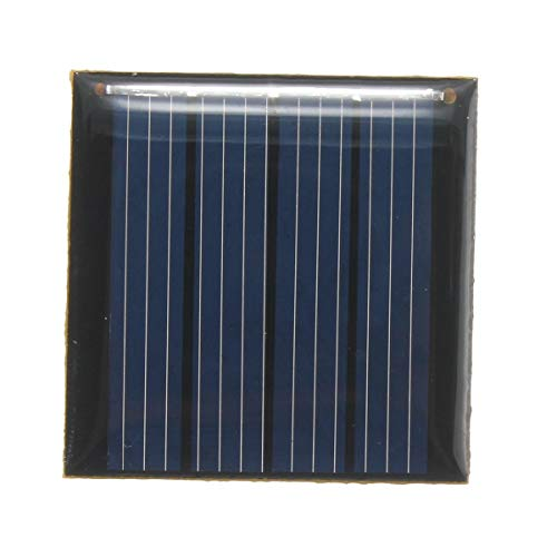 YONH Wa 0.14W 2V Epoxy Batterie-Platten-Polykristalline Silizium-Zellen-Batterien DIY Solar Panels Solar Panel Zellmodell 40 x 40x3mm Windräder