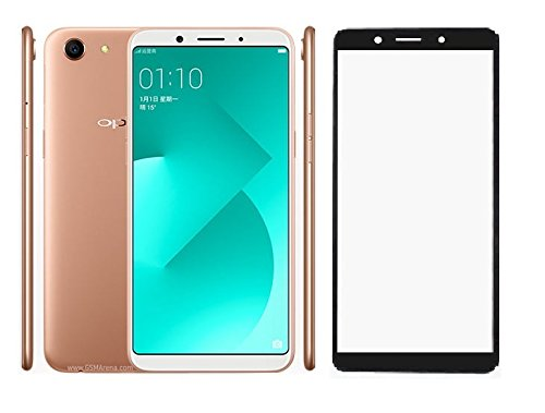 Karirap Top Quality ultra clear, 9H hardness,2.5D Curved, shatterproof, anti explosion, scratch free, bubble free, oil resistant, reduced fingerprint tempered black glass screen protector tempered black glass for Oppo a83