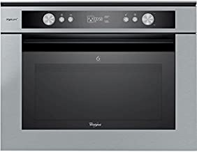 Whirlpool AMW 834 IXL Integrado 40L 900W Acero inoxidable - Microondas (Integrado, 40 L, 900 W, Botones, Acero inoxidable, 1600 W)
