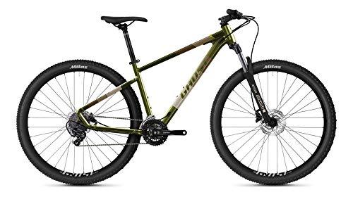 Ghost Kato Base 29R AL U Mountain Bike 2021 (M/44cm, Olive/Gray)
