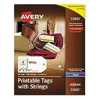 Avery 印刷可能なマーキングタグ(22802)