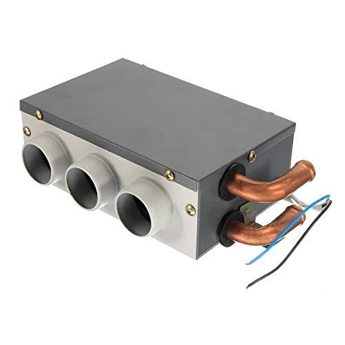 Sunjiaxingzd Descongelador de calentador de coche, 12 V, 3 agujeros, portátil, calefacción, compresa, descongelador, descongelador, calentador de coche portátil, calentador de coche