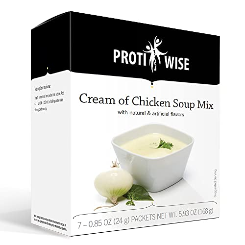 ProtiWise - High Protein Diet Soup   Cream of Chicken   Low...