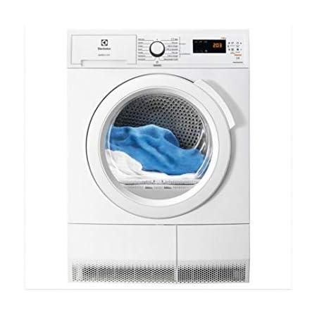Electrolux EW6C4853SC sèche-linge Autonome Charge avant Blanc 8 kg B - Sèche-linge (Autonome, Charge avant, Condensation, Blanc, Rotatif, Droite)