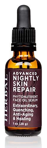 Organic Tamanu Oil, Advanced Nightly Skin Repair, Tamanu Oil Face Care, Face Serum For Acne and Psoriasis, Ora's Amazing Herbal
