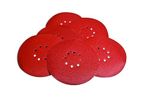 Evolution Power Tools 078-0091 Sanding Discs - 120 Grit Pack (6 Set), 0.03 cm*22.5 cm*22.5 cm