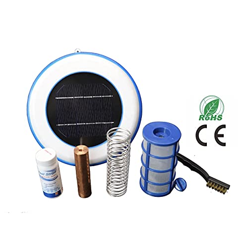 SunTex Products - Solar Swimming Pool Ionizer Reduces Chlorine Use by 80% Helps Keep Pool Water Crystal Clear
