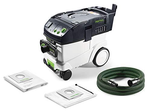 Festool Absaugmobil CTL 36 E AC HD CLEANTEC Herstellernr. 575292, Schwarz/Grün