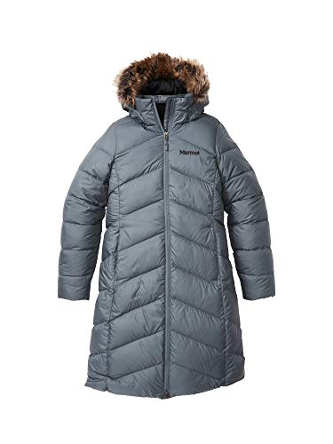 Marmot Damen Wm's Montreaux Coat Daunenmantel, grau (Steel Onyx), M*