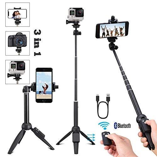 Yunteng 40 Inch Selfie Stick,...