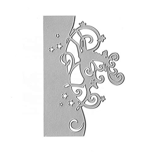 Christmas Deer Border Metal Cutting Dies for Card Making Scrapbooking Embossing Stencil Album Decorative Crafts Dies