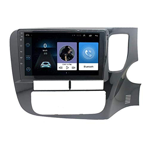 JIBO For Mitsubishi Outlander 2012-2018 Android 9.0 Car Stereo Radio GPS Navigation 9 Inch Touch Screen Multimedia Player Video Receiver Hands-free Call SWC,4GWIFI1+32