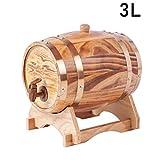 ROHXNK Baril De Chêne 3L pour Le Stockage Ou Le Vieillissement