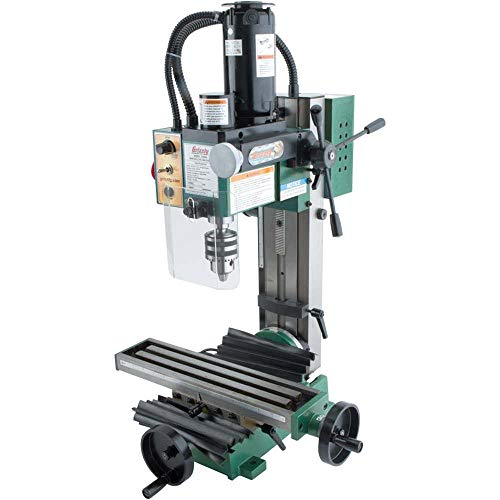 Grizzly Industrial G8689-4' x 16' 3/4 HP Mini Milling Machine