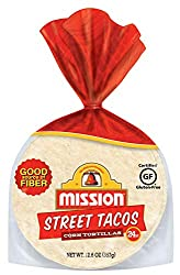 Mission, Street Taco Corn Tortillas Mini Soft, 24 ct