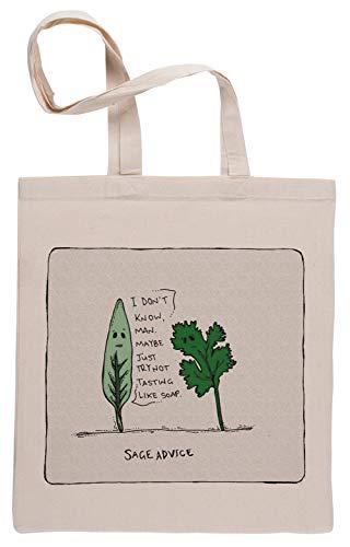 Sage Advice Einkaufstasche Shopping Bag Beige