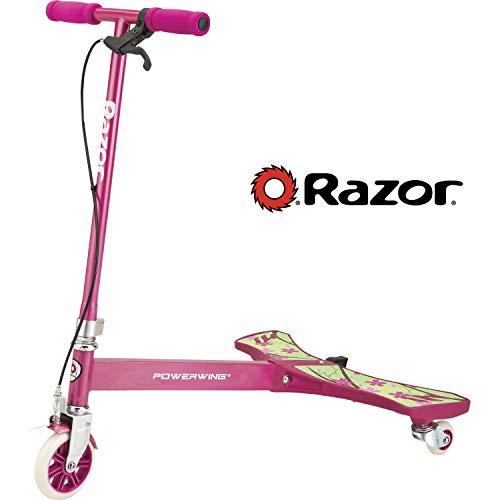 Razor Powerwing Patineta de Tres Ruedas Color Rojo única 20073360