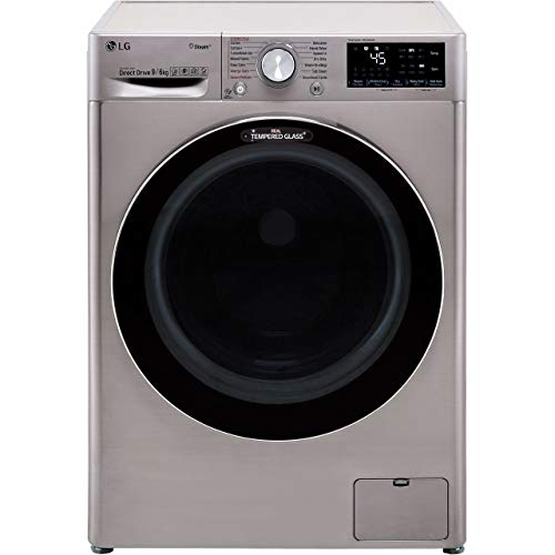LG V7 FWV796STS Wifi Connected 9Kg / 6Kg Washer Dryer with 1400 rpm -...