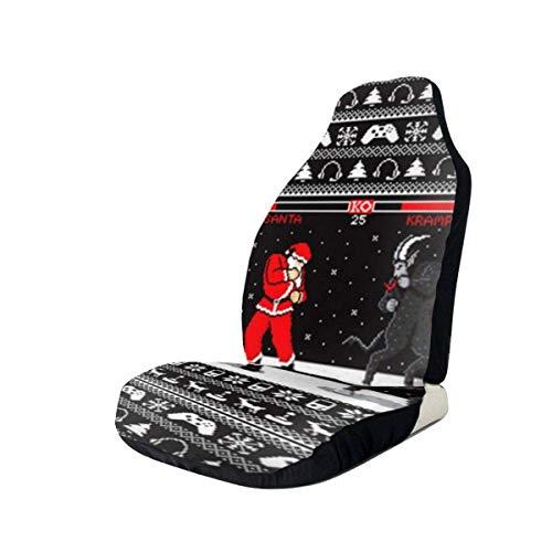 Little Yi Ko Xmas Santa Autositzbezüge Fahrzeugsitzschutz Universal Autositzzubehör