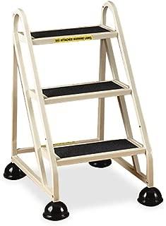 Cramer 1030-19 Stop-Step Ladder 3 Steps 27-inch High Top Step, Beige