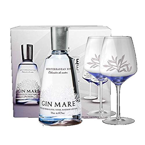 Gin Mare Double G&T Glass Pack - 700 ml