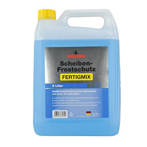 Nigrin 73160 Scheiben-Frostschutz Fertigmix bis -15°C, 5 L