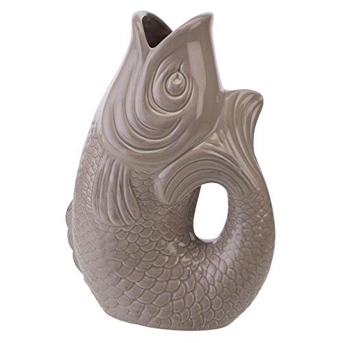 Gift Company 77034 Monsieur Carafon - Vase/Blumenvase - S - Sandstone, 1,2 Liter - 17x10x24,3cm