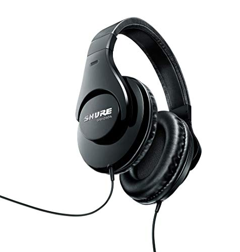 Shure SRH240A Professional Quality Headphones designed for Home Recording & Everyday Listening