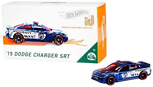 Mattel - Hot Wheels ID Vehículo de juguete, coche 15 Dodge Charger, +8 años ( FXB32)